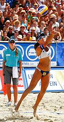 06-08-2011 VOLLEYBAL: FIVB WORLD TOUR GRANDSLAM: KLAGENFURT<br />  Talita Antunes (BRA)<br /> ©2011-FotoHoogendoorn.nl / Erwin Scheriau
