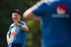 May 29, 2018 - BÃ¥Stad, Sverige - 180529 Lars Jacobsson, bevakare under Sveriges fotbollslandslags träning den 29 maj 2018 i BÃ¥stad  (Credit Image: © Petter Arvidson/Bildbyran via ZUMA Press)