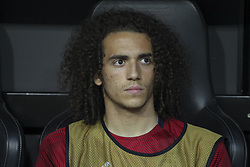 May 9, 2019 - Valencia, Valencia, Spain - Matteo Guendouzi of Arsenal in action during UEFA Europa League football match, between Valencia and Arsenal, May 09th, in Mestalla stadium in Valencia, Spain. (Credit Image: © AFP7 via ZUMA Wire)