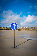 "Crossing to Omey Island at low tide, Connemara, Galway, Ireland. Omey is a tidal island - with a signposted route so that can cars can drive out on the sand during low tide. This mage can be licensed via Millennium Images. Contact me for more details, or email mail@milim.com For prints, contact me, or click ""add to cart"" to some standard print options."