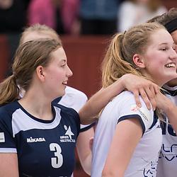 Elite Volley Aarhus - Amager VK - 2. og 3. bronzekamp Dameligaen 2017-2018