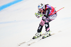 January 19, 2018 - Cortina D'Ampezzo, Dolimites, Italy - Tina Weirather of Liechenstein competes  during the Downhill race at the Cortina d'Ampezzo FIS World Cup in Cortina d'Ampezzo, Italy on January 19, 2018. (Credit Image: © Rok Rakun/Pacific Press via ZUMA Wire)
