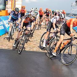 22-08-2020: Wielrennen: NK vrouwen: Drijber<br /> Jeanne Korevaar (Netherlands / CCC Liv), Anna van der Breggen (Netherlands / Boels - Dolmans Cycling Team)