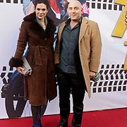 NLD/Amsterdam/20120211 - Premiere Tony 10, Anna Drijver en Loek Peters