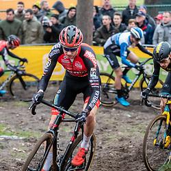 26-12-2019: Cycling: CX Worldcup: Heusden-Zolder: Michael Vanthourenhout and Quinten Hermans taking the lead