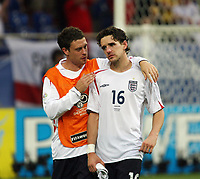Photo: Chris Ratcliffe.<br /> England v Portugal. Quarter Finals, FIFA World Cup 2006. 01/07/2006.<br /> Gutted Owen Hargreaves.