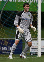 Photo: Maarten Straetemans.<br /> AGOVV Apeldoorn v Norwich City. Pre Season Friendly. 21/07/2007.<br /> David Marshall