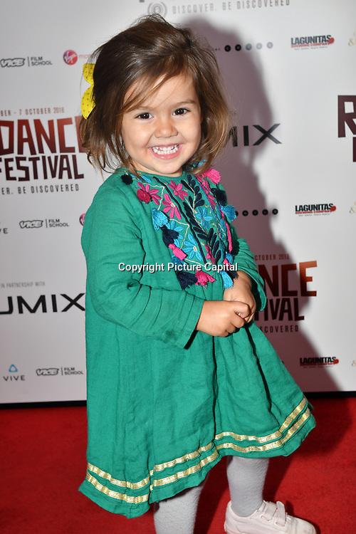 Director Richard Raymond little princess attend 'Souls of Totality' film at Raindance Film Festival 2018, London, UK. 30 September 2018.