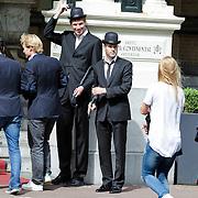 NLD/Amsterdam/201200704 - NOC/NSF teamoverdracht, ontvangst lunch, oa  Erben Wennemars