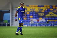 AFC Wimbledon defender Darnell Johnson (27) walking off pitch during the EFL Sky Bet League 1 match between AFC Wimbledon and Milton Keynes Dons at Plough Lane, London, United Kingdom on 30 January 2021.