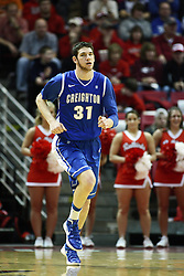 13 January 2012:  Will Artino during an NCAA Missouri Valley Conference mens basketball game where the Creighton Bluejays topped the Illinois State Redbirds 87-78 in Redbird Arena, Normal IL