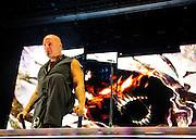 Disturbded headline the Rockstar Energy Uproar Festival ay Jiffy Lube Live in Bristow, VA.