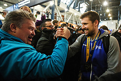 Lesjak Urban during Reception of Slovenian National Handball team bronze medalist from Handball world cup in France, 29th January 2017,  Zagreb, Croatia. Photo by Grega Valancic / Sportida