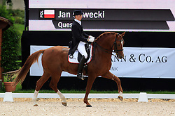 Gawecki Jan (POL) - Quest<br /> FEI European Dressage Championship Juniors - Bern 2012<br /> © Hippo Foto - Leanjo de Koster