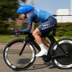 31-08-2017: Wielrennen: Boels Ladies Tour: Roosendaal<br /> Linda Villumsen takes third place at ITT Roosendaal