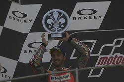 June 3, 2018 - Scarperia, Italy - 04.Andrea DOVIZIOSO.ITA.Ducati Team.Ducati  podium winner during Race MotoGP  at the Mugello International Cuircuit for the sixth round of MotoGP World Championship Gran Premio d'Italia Oakley on June 3, 2018 in Scarperia, Italy  (Credit Image: © Fabio Averna/NurPhoto via ZUMA Press)