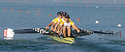 2005 FISA Rowing World Cup Munich,GERMANY. 18.06.2005;.GBR W4X GB Women's Quad move away from the start, in threir Sat. final at the FISA World Cup Regatta in Munich..Photo  Peter Spurrier. .email images@intersport-images...[Mandatory Credit Peter Spurrier/ Intersport Images] Rowing Course, Olympic Regatta Rowing Course, Munich, GERMANY