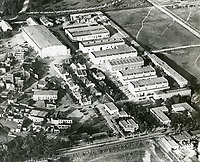 1920 Aerial of Robert Brunton Studios on Melrose Ave.
