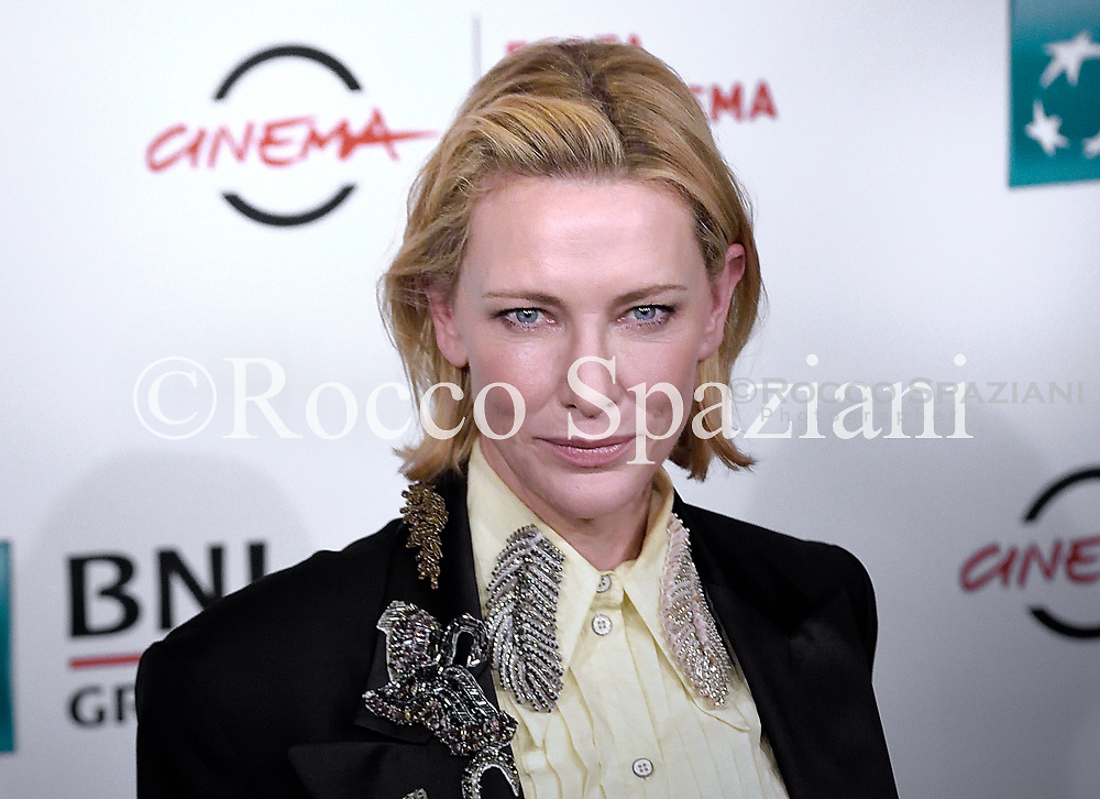 Cate Blanchett attends the 'The House With A Clock In Its Walls' photocall during the 13th Rome Film Fest at Auditorium Parco Della Musica on October 19, 2018 in Rome, Italy.