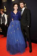Het Gala van de Nederlandse Film met de uitreiking van de Gouden Kalveren tijdens het Nederlands Film Festival in Utrecht.<br /> <br /> Op de foto: Anna Drijver en Benja Bruijning