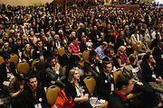 All seats were filled as attendees wait for Sen. Rand Paul to speak during day two of the Conservative Political Action Conference (CPAC) at the Gaylord National Resort & Convention Center in National Harbor, Md.