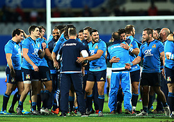 November 19, 2016 - Rome, Italy - Italy celebrating the victory  during the international match between Italy v South Africa at Stadio Olimpico on November 19, 2016 in Rome, Italy. (Credit Image: © Matteo Ciambelli/NurPhoto via ZUMA Press)
