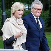 NLD/Leusden/20120920- Uitvaart Joop van Tellingen, Peter Smulders en partner Ingeborg
