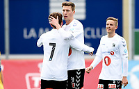 Fotball , 24. januar 2018 , privatkamp ,  Odd - Shanghai S.<br /> Tobias Lauritsen , Odd  jubel
