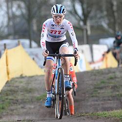 12-01-2020: Wielrennen: NK Veldrijden: Rucphen: Yara Kastelijn