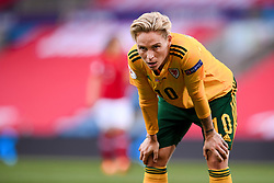 OSLO, NORWAY - Tuesday, September 22, 2020: Wales' Jessica Fishlock during the UEFA Women's Euro 2022 England Qualifying Round Group C match between Norway Women and Wales Women at the Ullevaal Stadion. Norway won 1-0. (Pic by Vegard Wivestad Grøtt/Propaganda)
