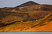 When viewed from a distance, in this case from the quarries of Carreg y Llam, the village of Y Nant sits quite high above the beach on a raised terrace which is actually the valley floor. Despite my comments about 'A Valley Exposed', this raised terrace offers relative safety from powerful winter seas and can afford reasonable shelter from cold north-easterly winds. In the sun, this valley can also be remarkably warm.