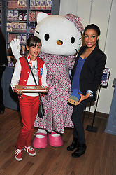 Left to right, ANTONIA O'NEILL and her aunt singer DIONNE BROMFIELD at a Hello Kitty Event at Liberty to lauch their collection of Hello Kitty products at Liberty, Great Marlborough Street, London on 25th September 2011.