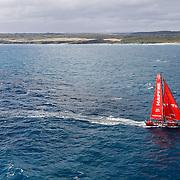 Leg 3, Cape Town to Melbourne, arrivals. Photo by Ainhoa Sanchez/Volvo Ocean Race. 24 December, 2017.