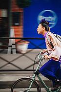 On bicycle, 2007. Paris, France. ©Ciro Coelho.