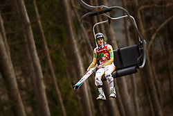 Domen Prevc (SLO) during the Ski Flying Hill Men's Team Competition at Day 3 of FIS Ski Jumping World Cup Final 2017, on March 25, 2017 in Planica, Slovenia. Photo by Grega Valancic / Sportida