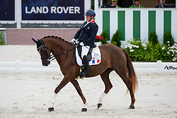 Valerie Salles, (FRA), Diamond du Loing - Individual Test Grade Ib Para Dressage - Alltech FEI World Equestrian Games™ 2014 - Normandy, France.<br /> © Hippo Foto Team - Jon Stroud <br /> 25/06/14