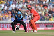 Jos Buttler of Lancashire Lightning batting during the Vitality T20 Finals Day Semi Final 2018 match between Worcestershire Rapids and Lancashire Lightning at Edgbaston, Birmingham, United Kingdom on 15 September 2018.