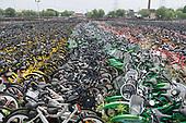 Bicycle Bike Cemeteries Shanghai China