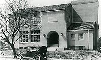 1923 Cheremoya School at Franklin Ave. & Beachwood Ave.