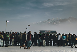 01.02.2020, Flugplatz, Zell am See, AUT, GP Ice Race, im Bild Zuschauer // Spectators during the GP Ice Race at the Airfield, Zell am See, Austria on 2020/02/01. EXPA Pictures © 2020, PhotoCredit: EXPA/ JFK