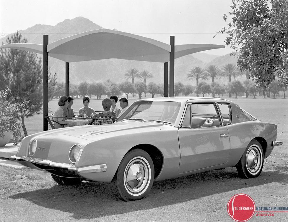 Studebaker Avanti promotional shot.