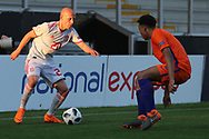 V?ctor Mollejo Carpintero of of Spain (20) during the UEFA European Under 17 Championship 2018 match between Netherlands and Spain at the Pirelli Stadium, Burton upon Trent, England on 8 May 2018. Picture by Mick Haynes.