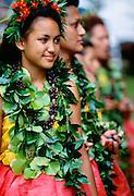 Hula Dancers, Kauai, Hawaii.