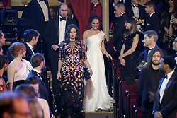 The Duke and Duchess of Cambridge arrive at the British Academy Film Awards (Bafta) at the Royal Albert Hall, London, to meet Bafta representatives and watch the ceremony prior to the Duke presenting the Fellowship award.