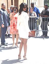 Priyanka Chopra at 'The View' in New York. 03 May 2018 Pictured: Priyanka Chopra. Photo credit: MEGA TheMegaAgency.com +1 888 505 6342