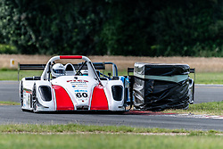 Andrew Goord pictured competing in the 750 Motor Club's joint races for their Bikesports and Sports 1000 championships. Image captured at Snetterton on July 18, 2020 by 750 Motor Club's photographer Jonathan Elsey