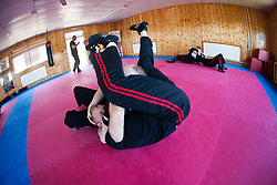 The last day of the Krav Maga Maga Global's General Instructors Course (GIC) at the KSDA Martial Arts Studio in Dunfermline..©Michael Schofield..
