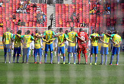 Mamelodi Sundowns during the 1st leg of the MTN8 Semi Final between Chippa United and Mamelodi Sundowns held at the Nelson Mandela Bay Stadium in Port Elizabeth, South Africa on the 11th September 2016<br /><br />Photo by: Richard Huggard / Real Time Images