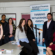 13.09.17.            <br /> Aviation Finance Finuas Network, Introduction To Aviation Leasing, Air Ventures, Shannon. <br />  Pictured are, Yvonne Walsh, Engine Lease Finance, Mohamed Nabiel, SMBC Aviation Capital, Breda Frawley, Engine Lease Finance, Patricia Lee, Accipitec, Mengying Liu, SMBC Aviation Capital, Benjamin Landes, SMBC Aviation Capital and Diana Galeriu, SMBC Aviation Capital. Picture: Alan Place