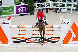 Emma Augier De Moussac, (CZE), Danthe RDPS - Team & Individual Competition Jumping Speed - Alltech FEI World Equestrian Games™ 2014 - Normandy, France.<br /> © Hippo Foto Team - Leanjo De Koster<br /> 02-09-14